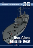 Kagero Super Drawings in 3D 16066: Osa-Class Missile Boat