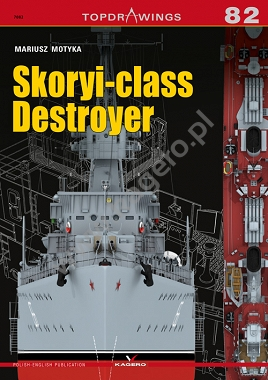 Kagero TopDrawings 82: Skoryi-class Destroyer