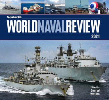 "Seaforth World Naval Review 2020. <font color=""#FF0000"" face=""Arial, Helvetica, sans-serif"">Expected to arrive end of November 2019!</font>"