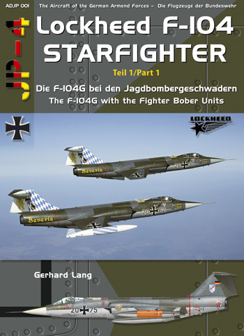 AirDOC JP-4 - ADJP 001: F- 104 Starfighter, Pt. 1, 2nd rev. and enl. edition!