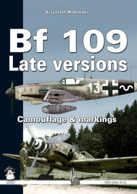 Bf 109 Late Versions. Camouflage & Markings. White (Rainbow) Series No 9110