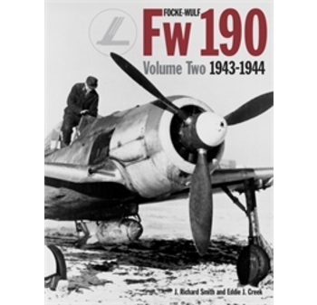 "Focke-Wulf Fw 190 Vol. 2: 1943-44. <font color=""#FF0000"" face=""Arial, Helvetica, sans-serif"">Unchanged REPRINT considered for SPRING 2021, orders are welcome!</font>"