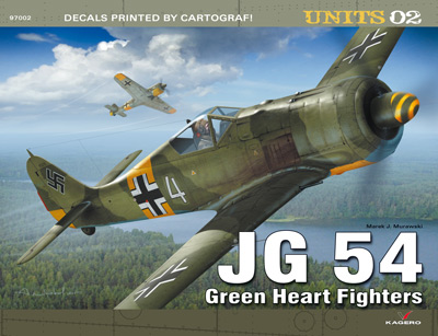 Kagero Units 02: JG 54. Green Heart Fighters.