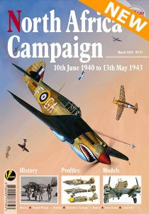 Airframe Extra No. 9: North Africa Campaign. 10th June 1940 to 13th May 1943. History, Profiles, Models.