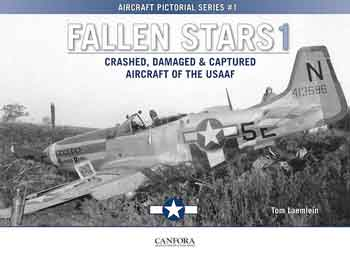 Fallen Stars 1 – Crashed, Damaged & Captured Aircraft of the USAAF