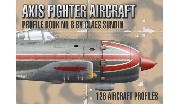 Axis Fighter Aircraft Profile Book No. 8.