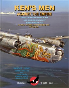 "Ken's Men Against the Empire. The Illustrated History of the 43rd Bombardment Group During WW II Vol. II: October 1943 - December 1945, The B-24 Era. <font color=""#FF0000"" face=""Arial, Helvetica, sans-serif"">Expected to arrive December 2019!</font>"
