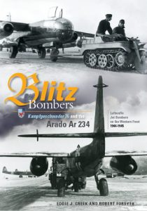 "Blitz Bombers. Kampfgeschwader 76 and the Arado Ar 234. Luftwaffe Jet Bombers on the Western Front 1944-1945.  <font color=""#FF0000"" face=""Arial, Helvetica, sans-serif"">Erscheint ca Juli 2020!</font>"
