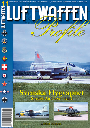 Luftwaffen Profile 11: Svenska Flygvapnet Swedish Air Force 2