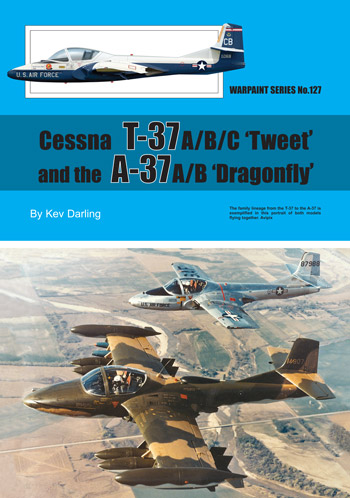 Warpaint No. 127: Cessna T-37 and A-37