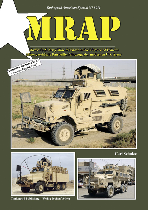 Tankograd American Special No. 3011: MRAP - Modern U.S. Army Mine Resistant Ambush Protected Vehicles