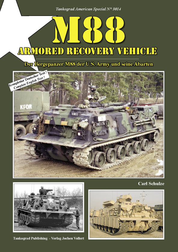 Tankograd American Special No. 3014: M88 Armored Recovery Vehicle
