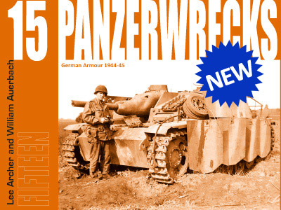 Panzerwrecks 15 - German Armour 1945-45.