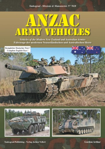 Tankograd Missions & Manoeuvres No. 7028: ANZAC Army Vehicles. Vehicles of the Modern New Zealand and Australian Armies.