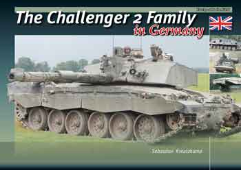 The Challenger 2 Family in Germany. Trackpad in the Field.