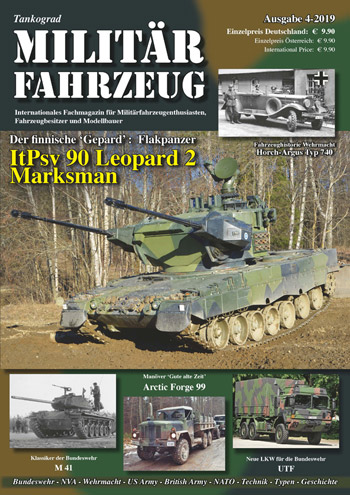 "Tankograd Militärfahrzeug 4/2019: ItPsv 90 Leopard 2 Marksman. <font color=""#FF0000\"" face=\""Arial, Helvetica, sans-serif\"">Expected to arrive mid of September 2019!</font>"