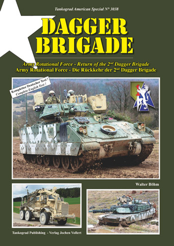 Tankograd American Special 3038: Dagger Brigade. Army Rotational Force - Return of the 2nd Dagger Brigade.