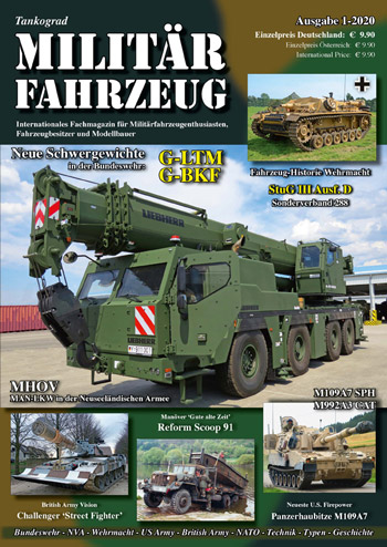 "Tankograd Militärfahrzeug 1/2020: Neue Schwergewichte in der BW. <font color=""#FF0000"" face=""Arial, Helvetica, sans-serif"">Expected to arrive about mid of November 2019!</font>"