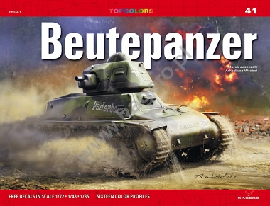 "Kagero Topcolors 41: Beutepanzer. <font color=""#FF0000"" face=""Arial, Helvetica, sans-serif"">Expected to arrive end of January 2020!</font>"