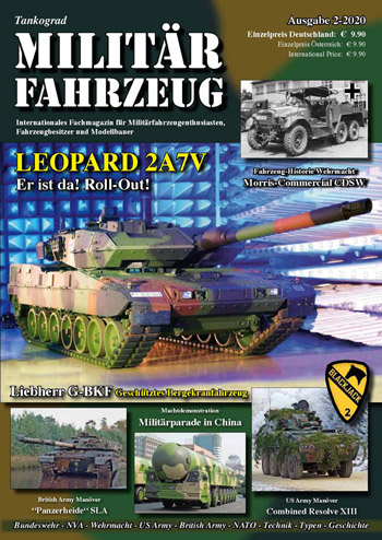 "Tankograd Militärfahrzeug 2/2020. <font color=""#FF0000"" face=""Arial, Helvetica, sans-serif"">Expected to arrive end of March 2020! </font>"
