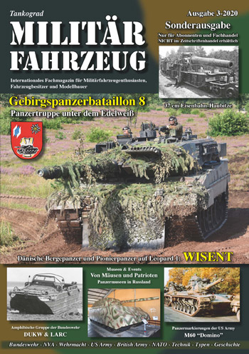 "Tankograd Militärfahrzeug 3/2020. <font color=""#FF0000"" face=""Arial, Helvetica, sans-serif"">Expected to arrive mid/end of June 2020!</font>"