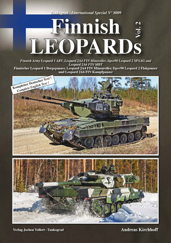 Tankograd International Special 8009: Finnish LEOPARDs Vol. 2.