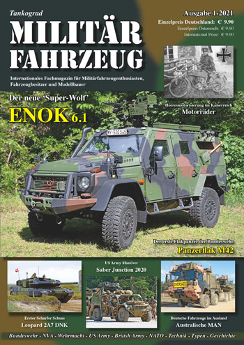 "Tankograd Militärfahrzeug 1/20210. <font color=""#FF0000"" face=""Arial, Helvetica, sans-serif"">Expected to arrive mid/end of November 2020!</font>"