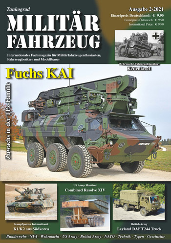 "Tankograd Militärfahrzeug 2/2021. <font color=""#FF0000"" face=""Arial, Helvetica, sans-serif"">Expected to arrive mid of March 2021!</font>"