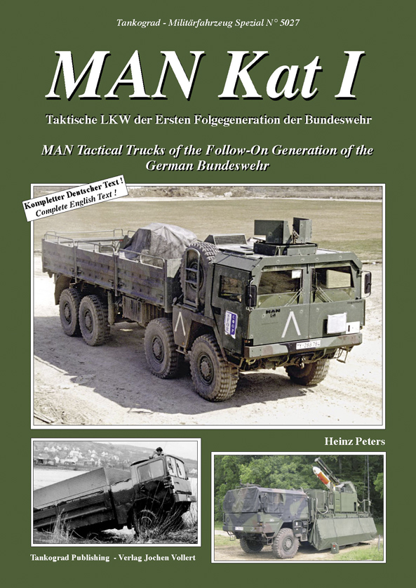 Tankograd Militärfahrzeug Spezial No. 5027: MAN Kat I - MAN Tactical Trucks of the Follow-On Generation