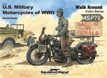 Walk Around No. 5707 (Color Series): U.S. Military Motorcycles of WWII