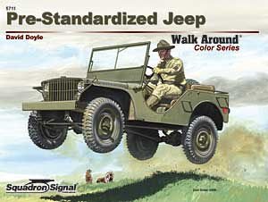Walk Around No. 5711 (Color Series): Pre-Standardized Jeep