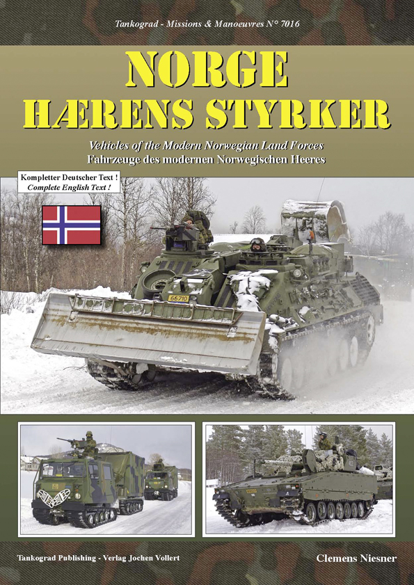 Tankograd Missions & Manoeuvres No. 7016: Norge – Hærens Styrker Vehicles of the Modern Norwegian Land Forces