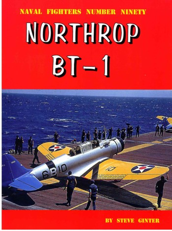 Naval Fighters # 90: Northrop BT-1