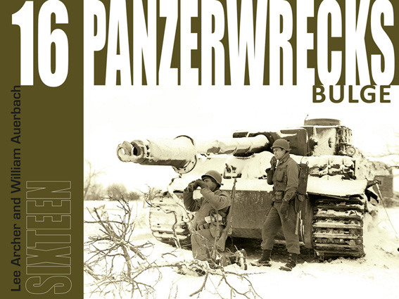 Panzerwrecks 16 - German Armour 1944-45: Bulge