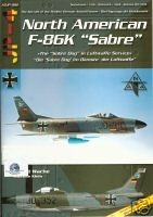 "AirDOC JP-4 - ADJP 002 - The Aircr. of the Mod. Germ. Army - North American F-86K ""Sabre"" in Luftwaffe Service"