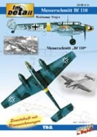 Im Detail - Messerschmitt Bf 110 (with inlaying plans)