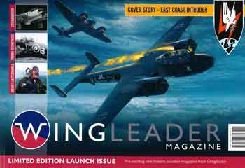 Wingleader Magazine Launch Issue. Cover Story - East Coast Intruder