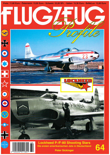 Flugzeug Profile 64: Lockheed P-/F-80 Shooting Stars