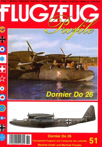 Flugzeug Profile 51: Dornier Do 26
