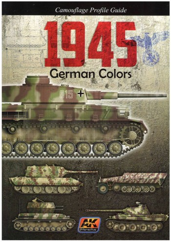 Camouflage Profile Guide 1945 German Colors