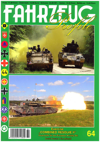 Fahrzeug Profile 64: Exercise Combined Resolve II