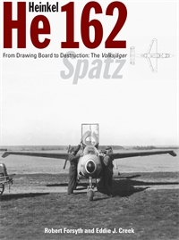 "Heinkel He 162 ""Spatz"": From Drawing Board to Destruction - The Volksjäger. <font color=""#FF0000"" face=""Arial, Helvetica, sans-serif"">Unchanged REPRINT considered for DECEMBER 2021, orders are welcome!</font>"