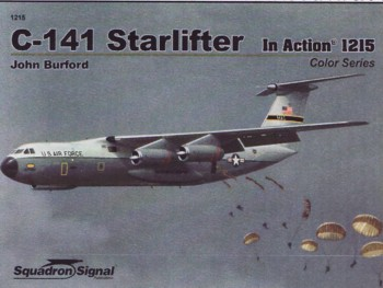 Aircraft in Action 1215 (Color Series): C-141 Starlifter