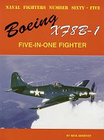 Naval Fighters # 65: Boeing XF8B-1 - Five-In-One Fighter