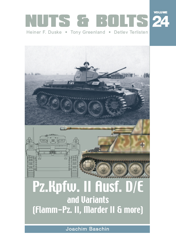 Nuts & Bolts Vol. 24: Pz.Kpfw. II Ausf. D/E and Variants