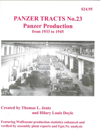 Panzer Tracts 23: Panzer Production