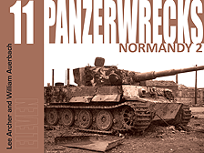 Panzerwrecks 11 - German Armour 1944-45: Normandy 2
