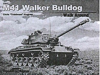 Walk Around No. 5724 (Color Series): M41 Walker Bulldog