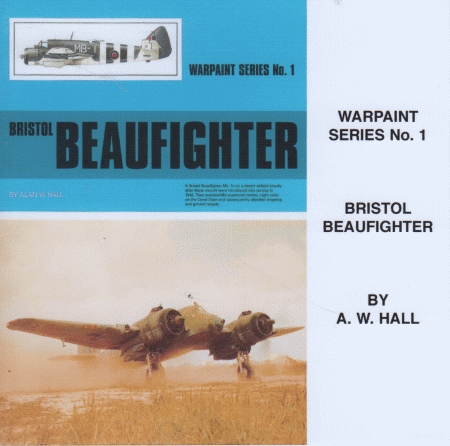 Warpaint No. 01: Bristol BEAUFIGHTER