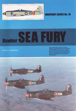 Warpaint No. 16: Hawker Sea Fury
